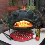 Green Frog Wood-Fired Pizza Oven