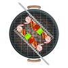Grill Comb Skewers