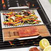 Grill Grid With Plank Holder