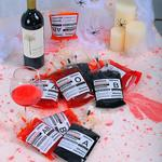 Halloween Blood Bag Drink Pouches