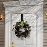 Halloween Hand Wreath Hanger - Witch, Mummy, Zombie, or Skeleton