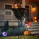 Halloween Jack O' Lantern Scarecrow Ground Stake