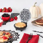 Halloween Spider Web Mini Waffle Maker