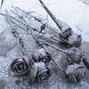Hand-Forged Steel Roses
