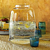 Handblown Glass Beverage Dispenser