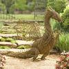 Handcrafted Grapevine Dragon Statue