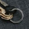 HandGrey KNOX - Lateral Split Titanium Key Ring