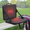 Heated and Massaging Stadium Seat Cushion