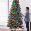 Height-Adjustable Christmas Tree - Raise / Lower For Ladder-Free Trimming