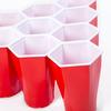 HexCup - Hexagon-Shaped Beer Pong Cups