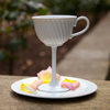 High Tea - Oversized Ceramic Tea Cup Stemware