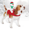 Holiday Snowman Dog Rider Costume