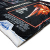Horror Movie VHS Cover Art Throw Blankets - Halloween, Texas Chainsaw Massacre, Evil Dead