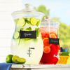 Hourglass Beverage Jar