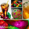 Lite Slices and Wedges - LED Light Up Freezable Fruit