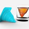 Ice Tornado - Silicone Ice Mold And Glass Tumbler