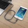 iClever Braided Stainless Steel Lightning Charger Cable