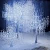 Illuminated Crystal Drop Trees