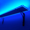 Illuminated Liquor Bottle Shelf - Unlimited Colors And Multiple Lighting Effects