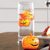 Illuminated Pumpkin Ice Cubes
