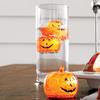 Illuminated Pumpkin Ice Cubes