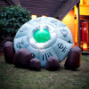 Massive Inflatable Crashed UFO