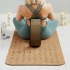 Instructional Cork Yoga Mat