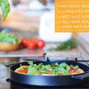 IRONATE - 3 Minute Stovetop Pizza Oven - Reaches 800 Degrees!