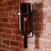 Italian Wine Bottle Candle Sconce