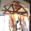 Jellyfish Light Shade / Paper Sculpture