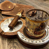 Kentucky Double Cigar Ashtray and Whiskey Coaster
