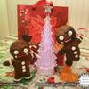 Killer Gingerbread Man Statues