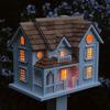 Kingsgate Cottage Lighted Birdhouse