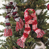 Knitted Scarf Ornaments