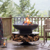 Layered Logs Fire Pit / Grill