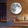 LED Mirror Moon - Mirror by Day, Full Moon by Night