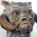 Life-Size Tauntaun Bust - Wall-Mounted Trophy Head