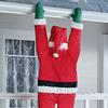 Lifesize Hanging Santa