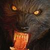 Lifesize Howling Werewolf Statue