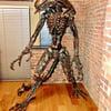 Lifesize Scrap Metal ALIEN Statue