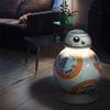 Lifesize Star Wars BB-8 Aluminum LED Floor Lamp / Droid