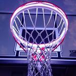 Light Up Action Super Hoop - Basketball Net LED Lighting With Shot Sensing Colors