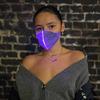 Light Up Fiber Optic Face Mask