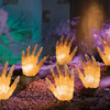 Lighted Halloween Staked Hands