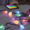 Lumenplay - Interactive App-Controlled String Lights (16 Million Colors)