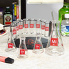 Mad Scientist Shot Glass Set