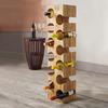 Mango Wood 12-bottle Wine Rack