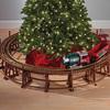 Manhattan Railway Christmas Tree Train Trestle Set