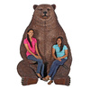 Massive Brown Bear Chair