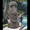 Massive Easter Island Moai Head Statue - Stands 6 Feet Tall!